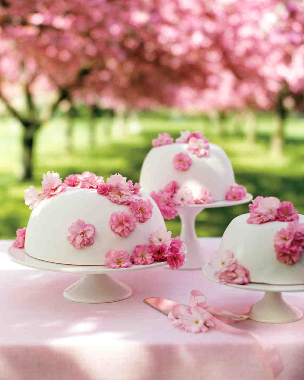 cherry blossom princess cake