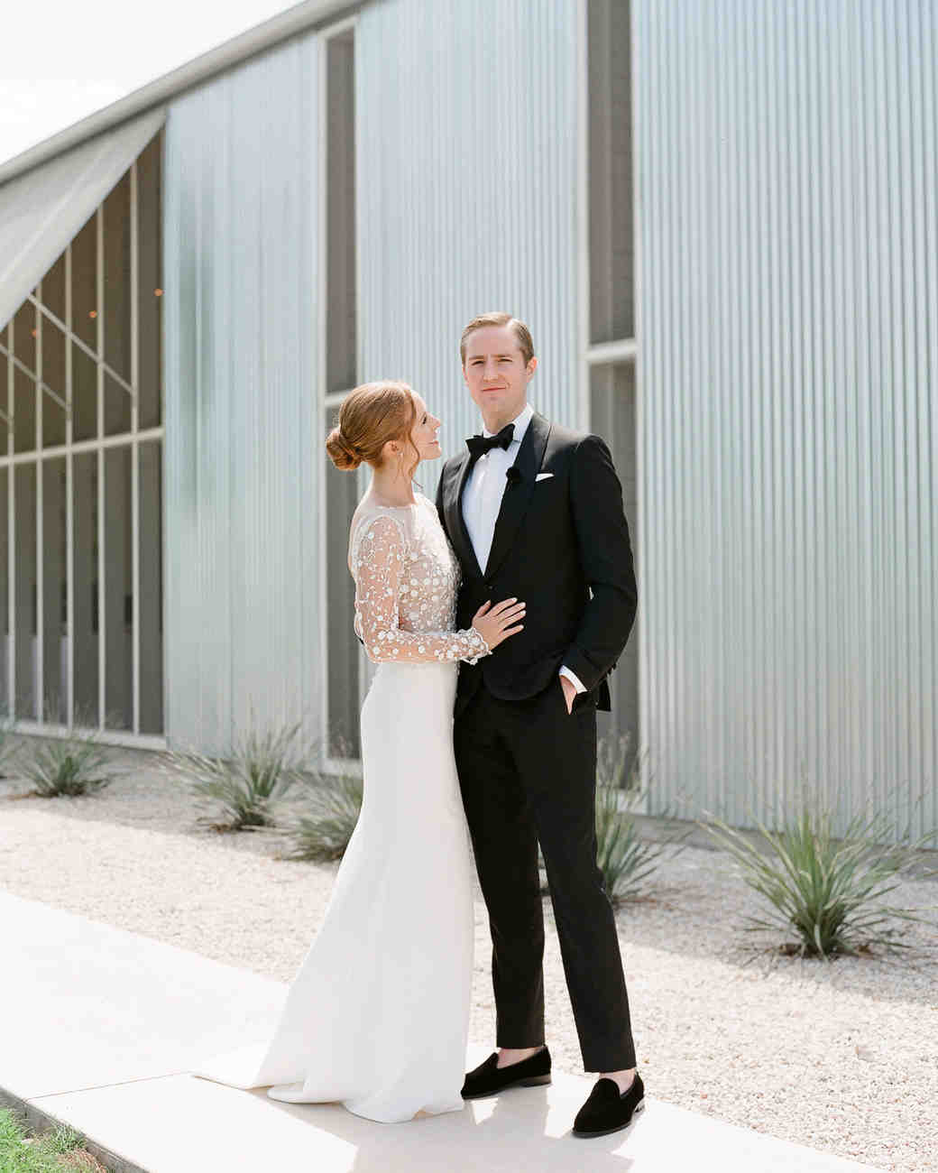 4a7f7d47e8d One Couple s Black-Tie Wedding in Texas Hill Country