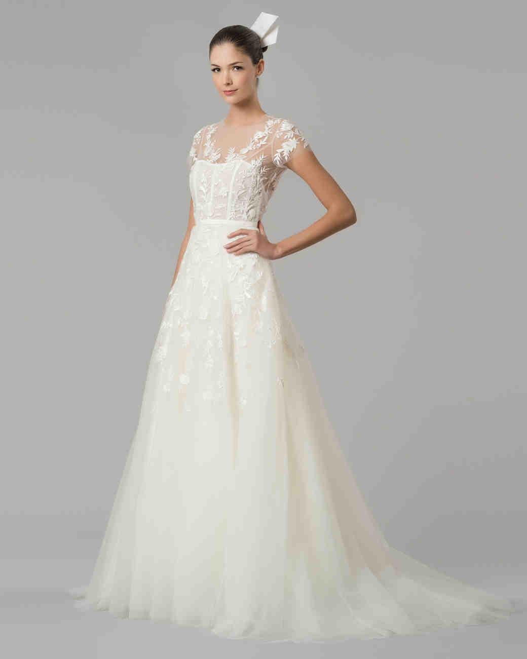 Carolina Herrera Fall 2015 Bridal Collection | Martha Stewart Weddings