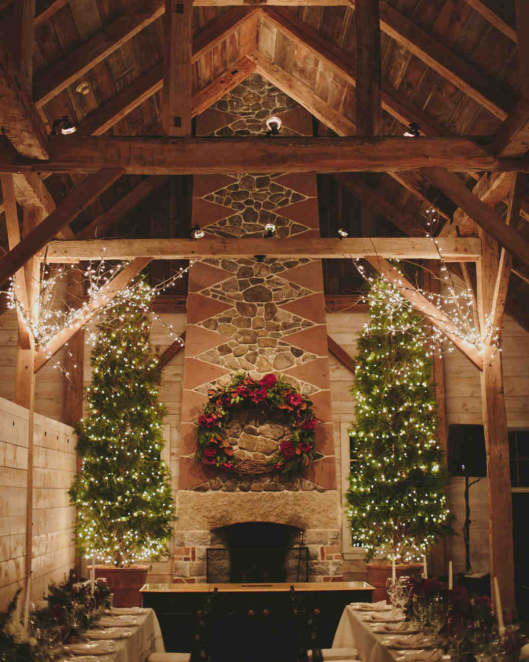 winter reception venue