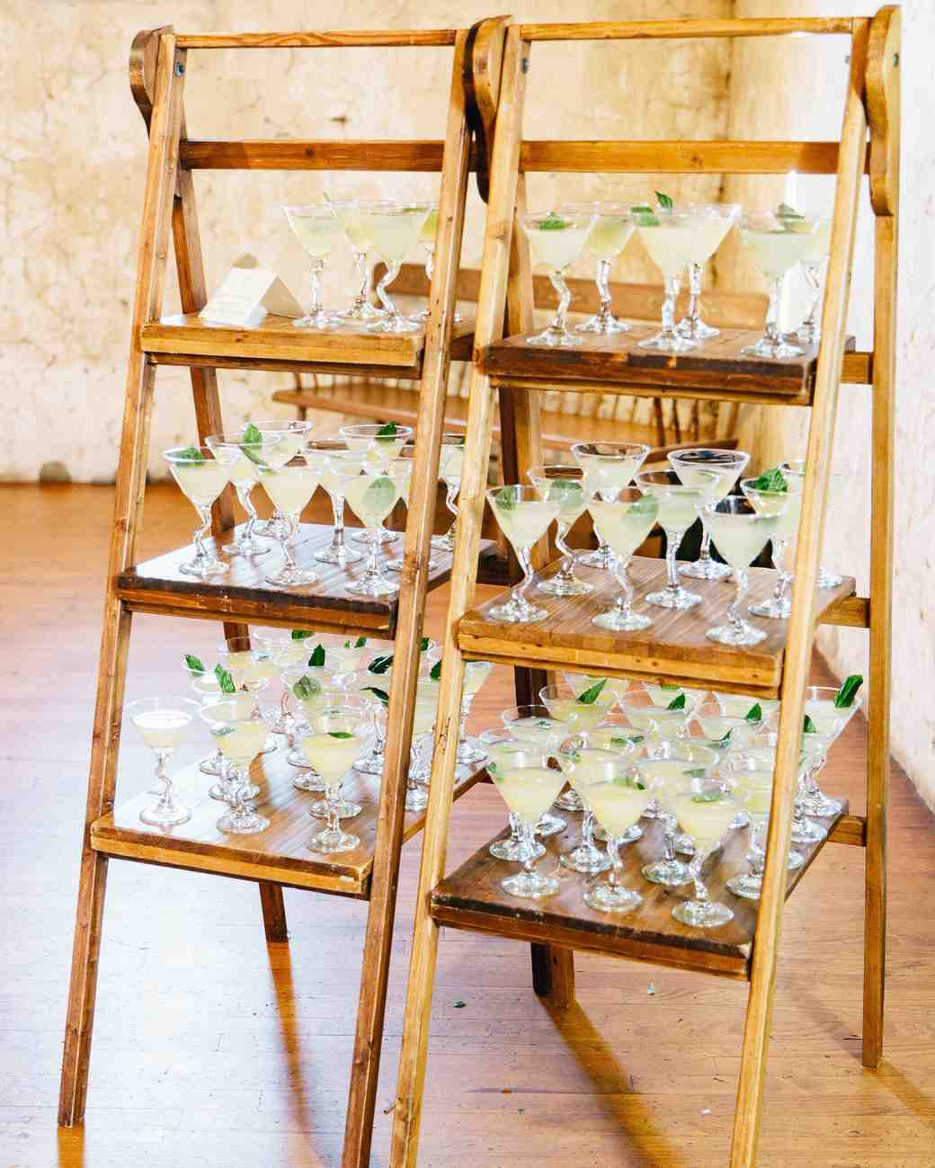 cocktails shelving