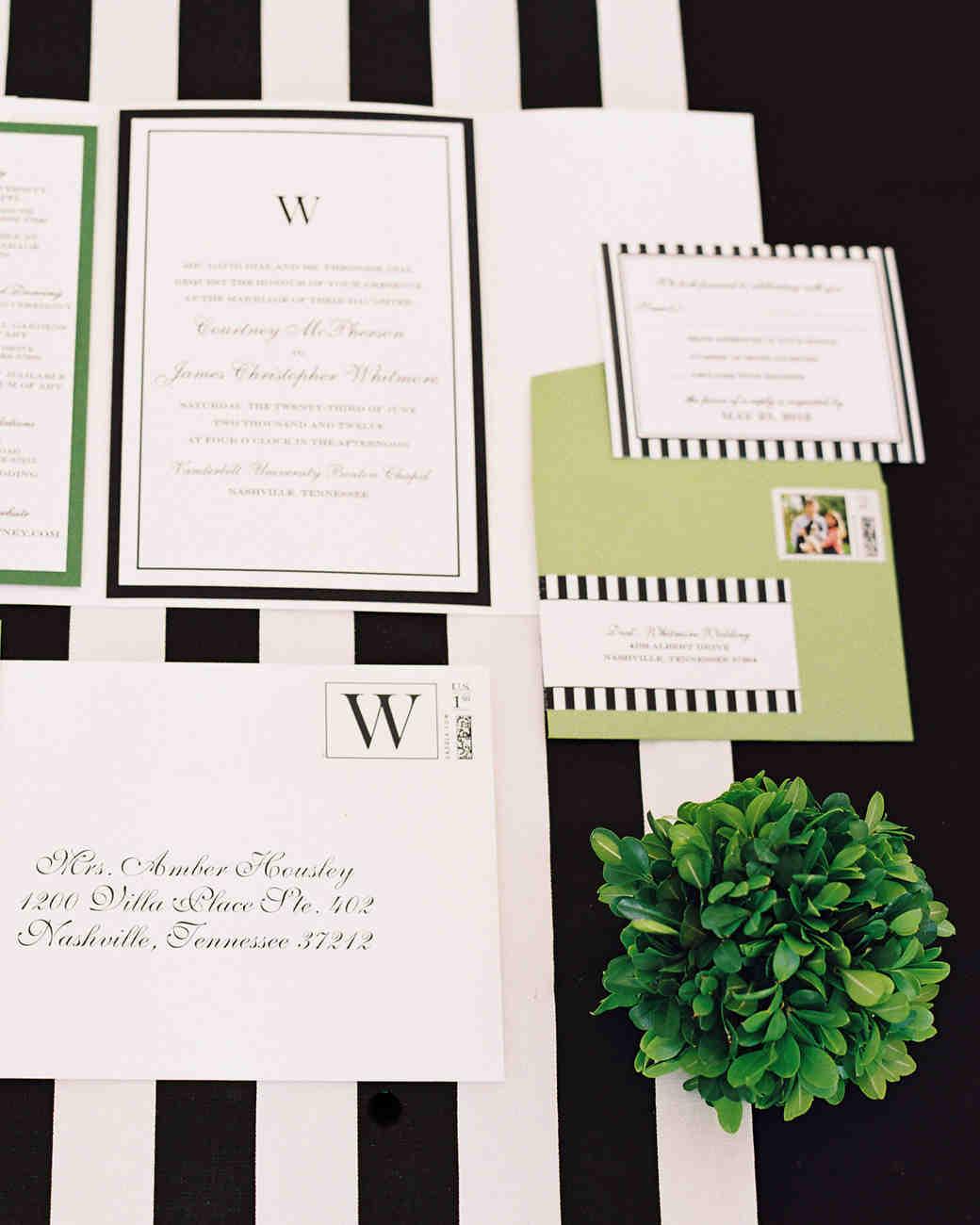 Expert Approved Wedding Invitation Etiquette Tips | Martha Stewart Weddings