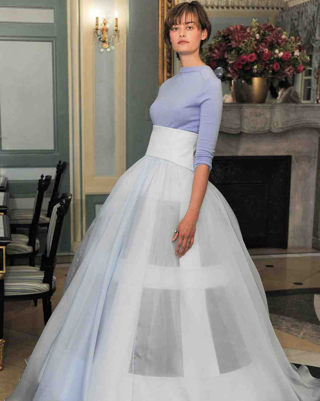 Wedding Gown Trends: 50 Two-Piece Wedding Dresses