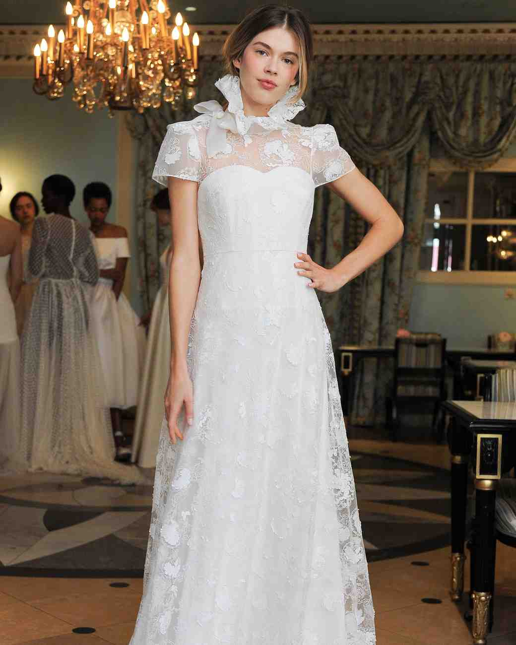 Delphine Manivet Bow Wedding Dress