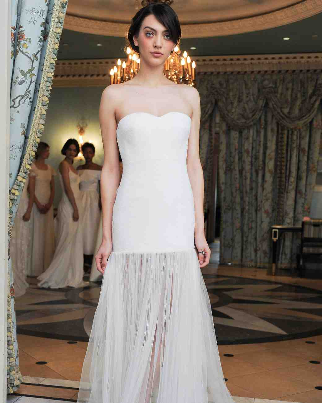 Delphine Manivet Tulle Skirted Gown