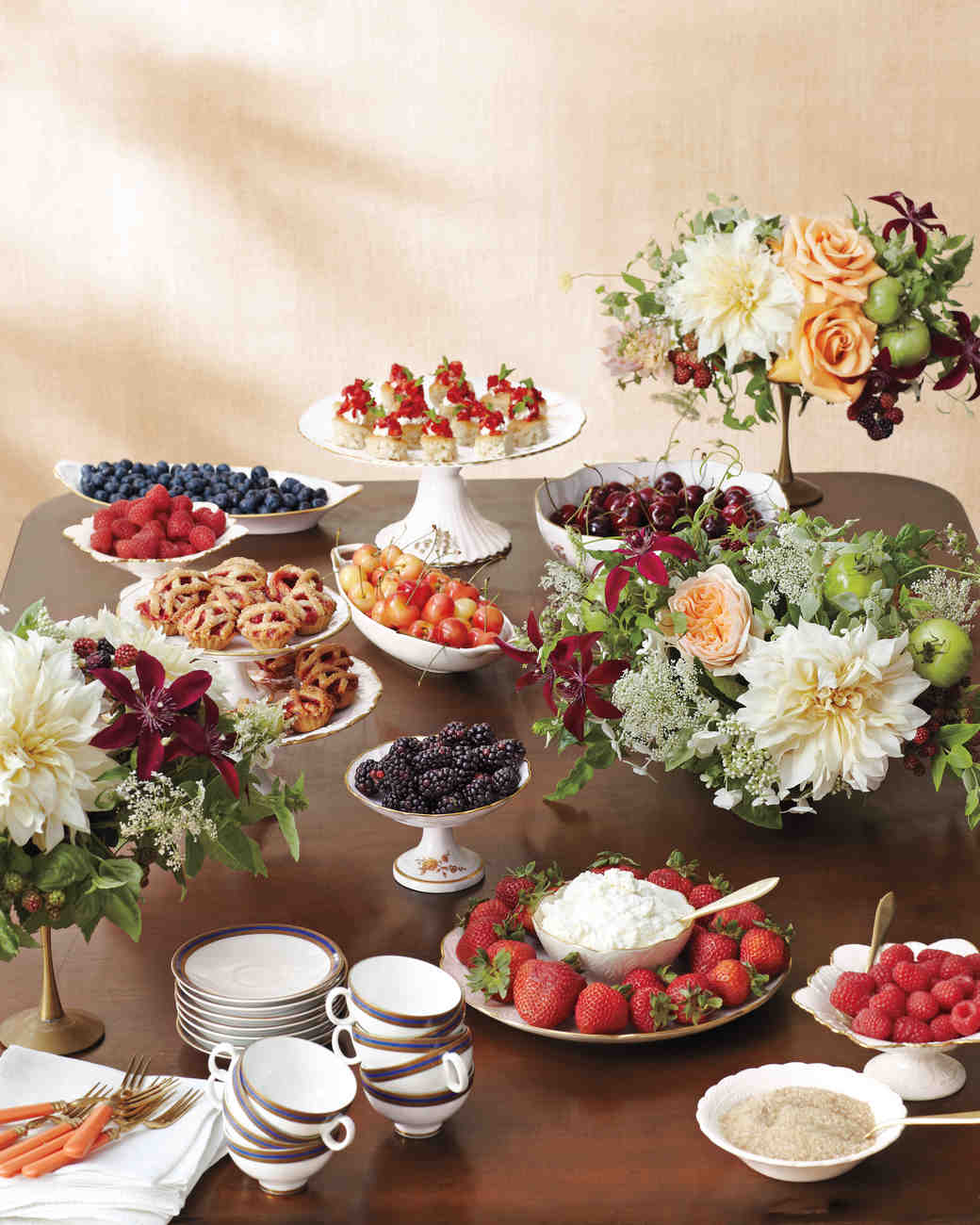 curate a sweet spread