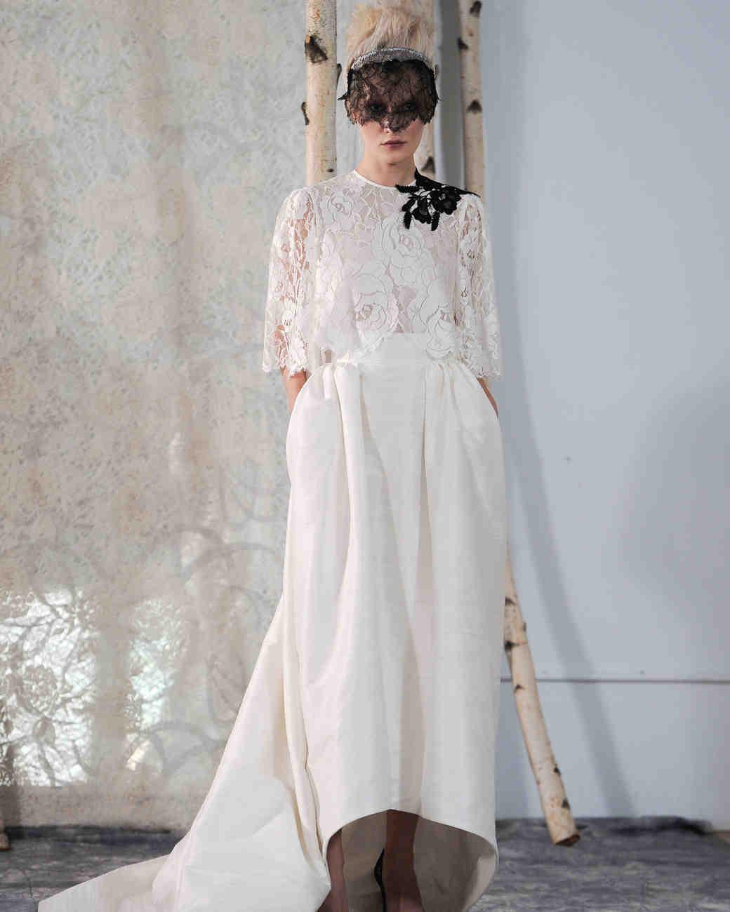 Elizabeth Fillmore Fall 2016 Wedding Dress Collection | Martha ...