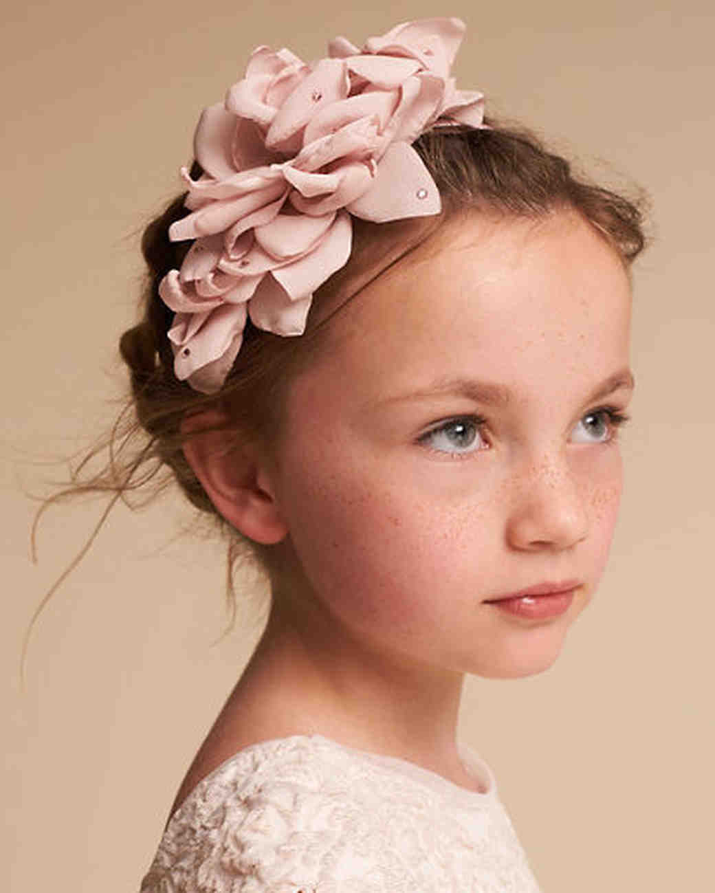 Hair Accessories Your Flower Girl Will Love Martha Stewart Weddings