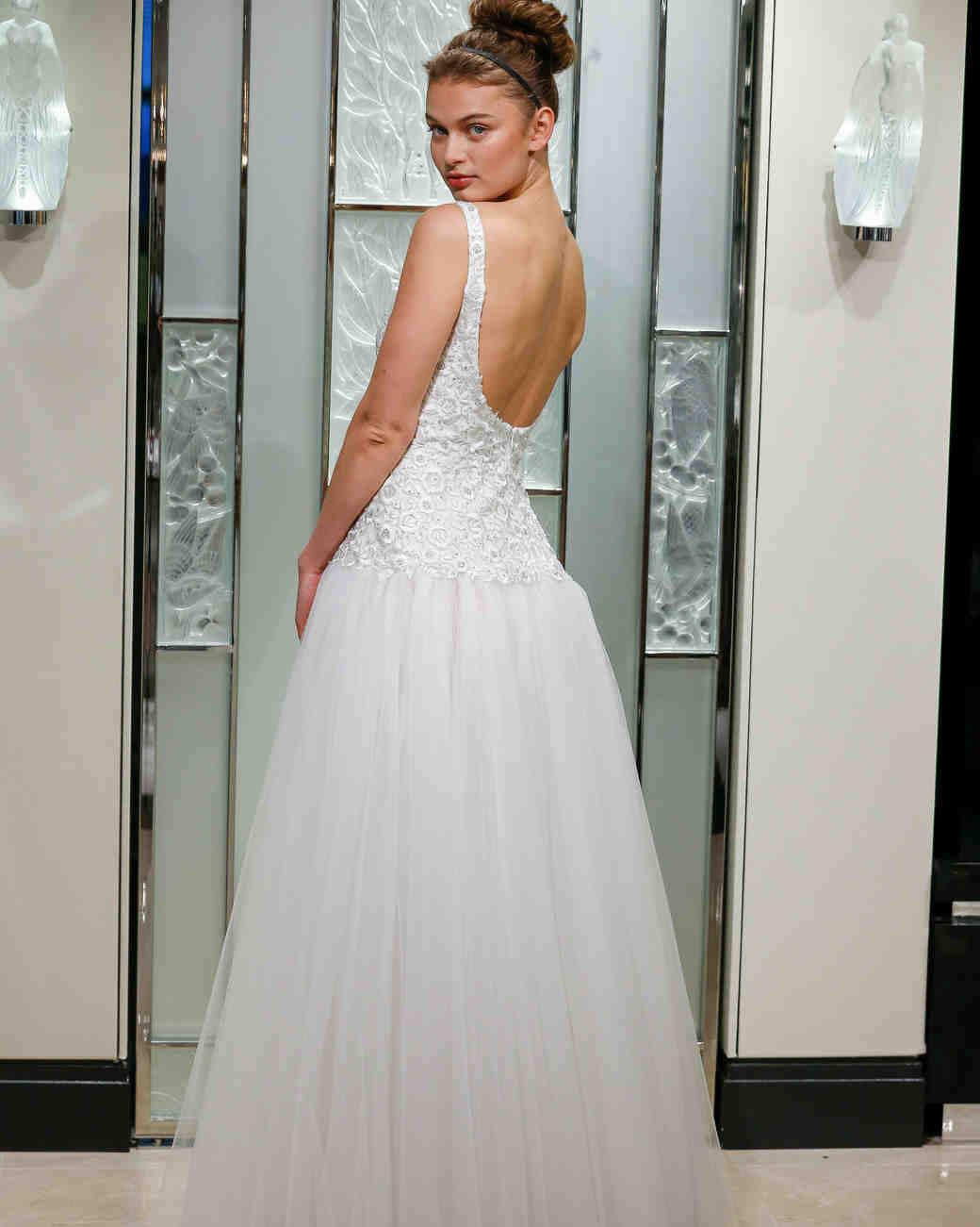 gracy accad a-line floral applique wedding dress spring 2020