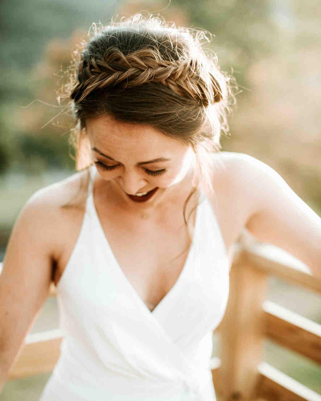 The Best Hairstyles For Every Wedding Dress Neckline Martha