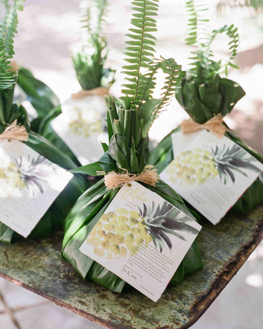 Hawaiian Wedding Favor Bundles
