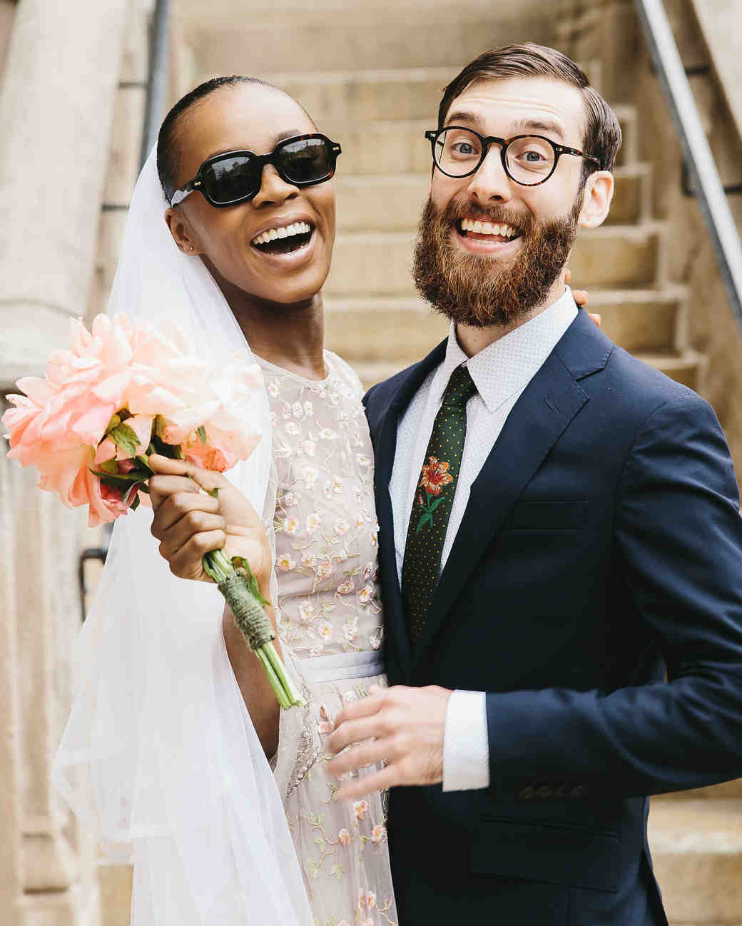 lola quinlan elopement couple smiles sunglasses