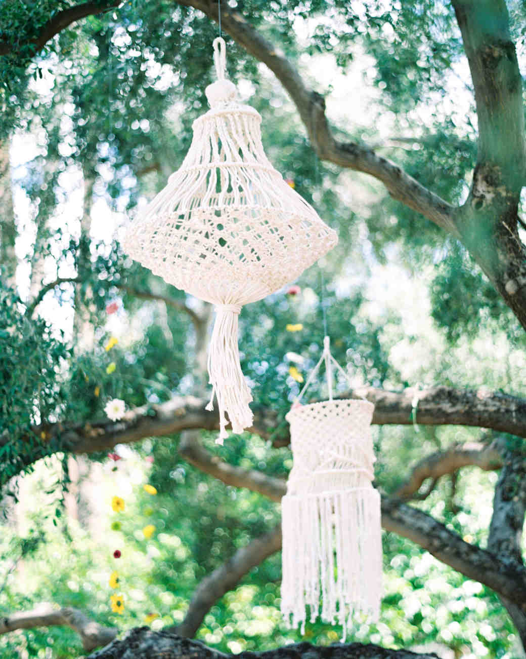 macrame wedding decor melissa jill