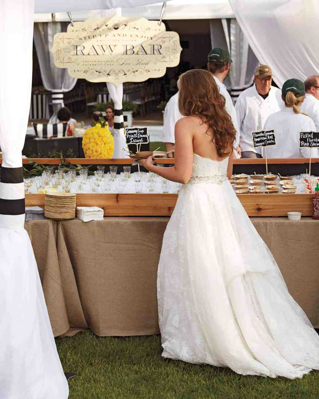23 Delicious Food Bars For Your Wedding Martha Stewart Weddings