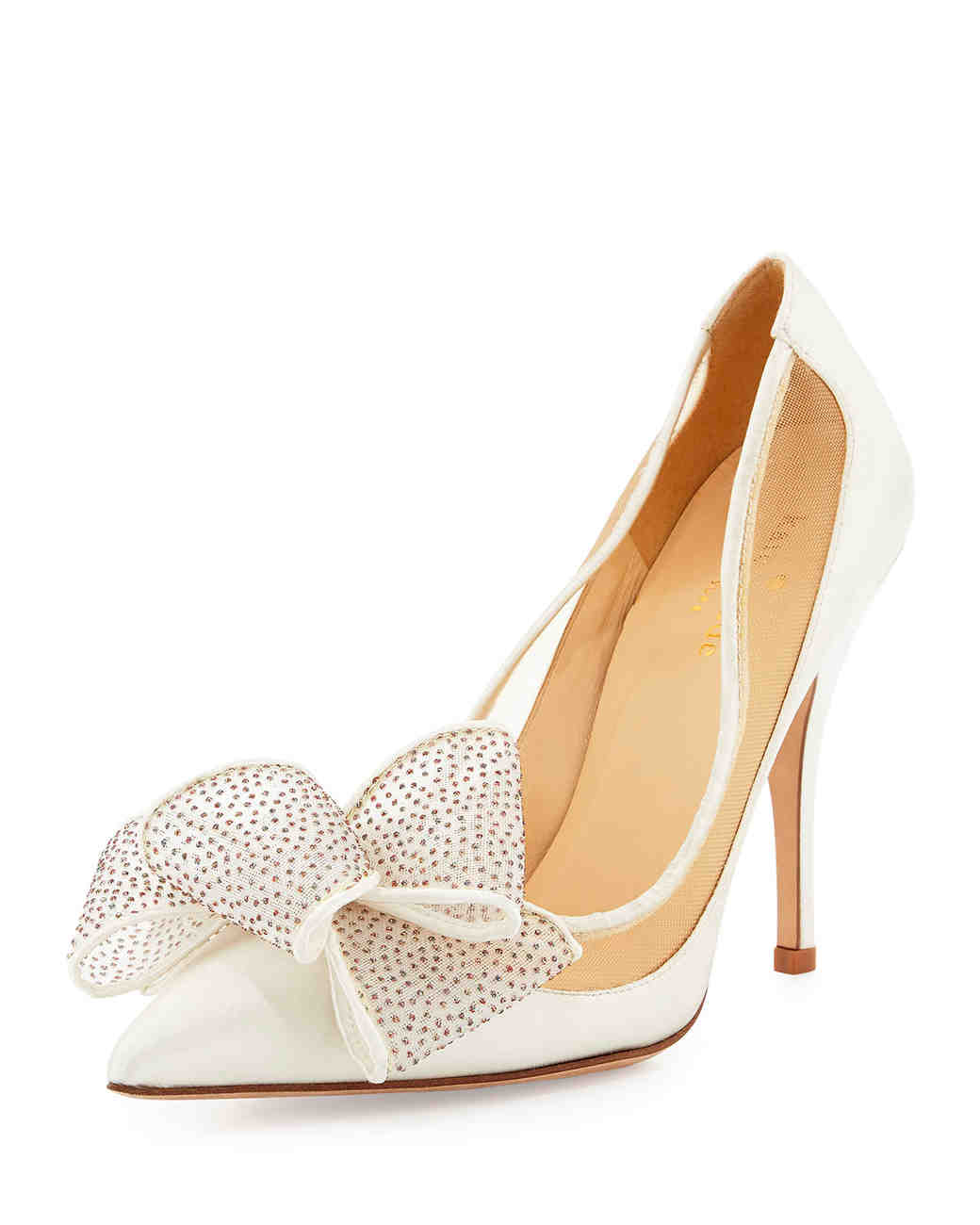e167875202 12 Wedding Shoes That Are a Sheer Delight | Martha Stewart Weddings