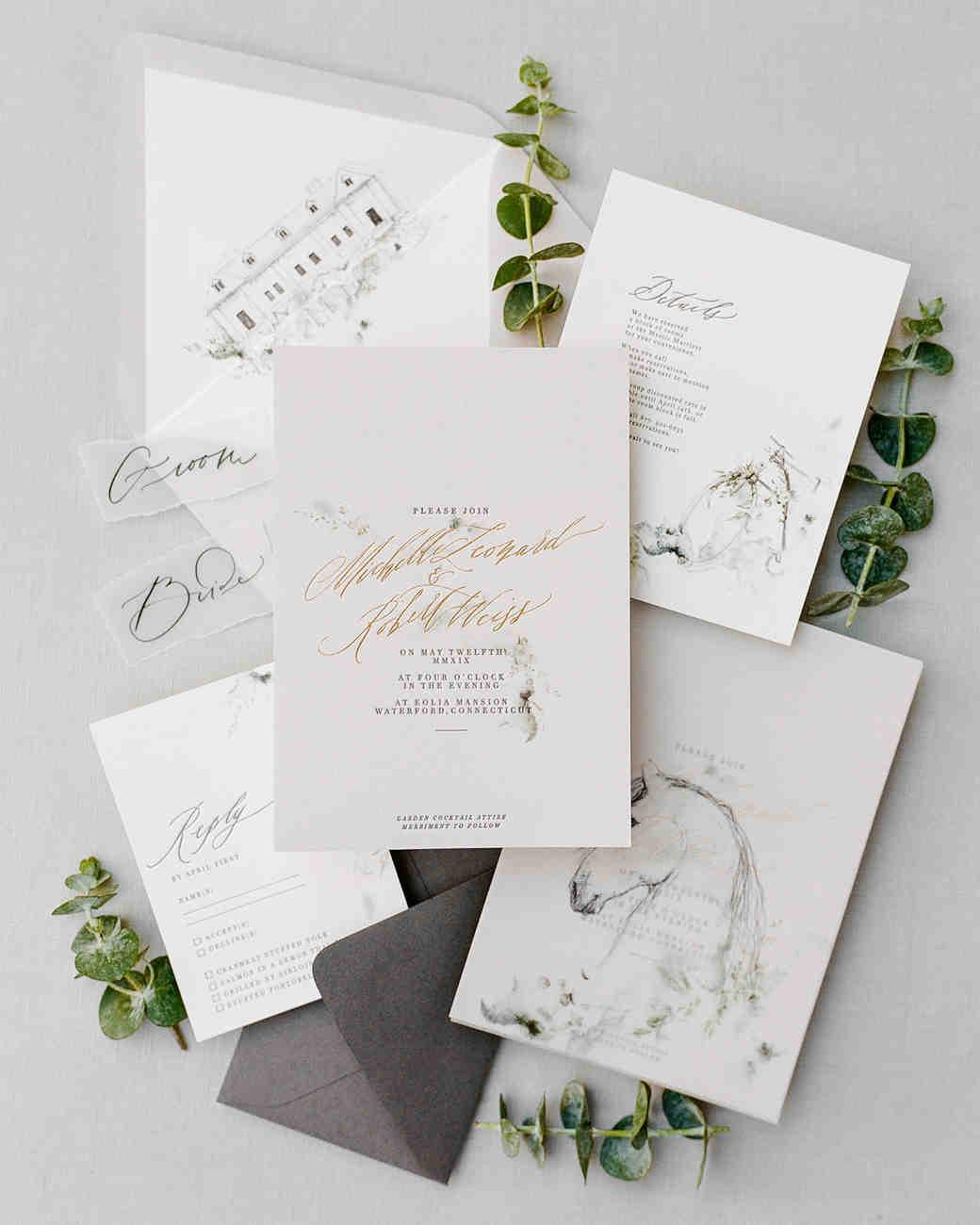 michelle robert wedding invite