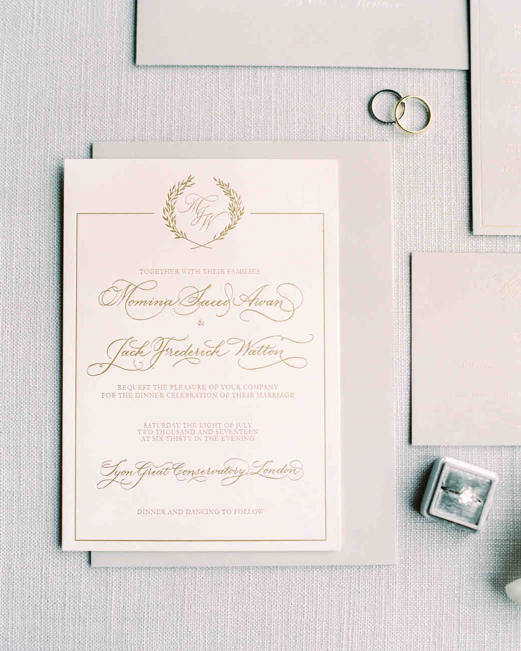momina jack wedding invitation