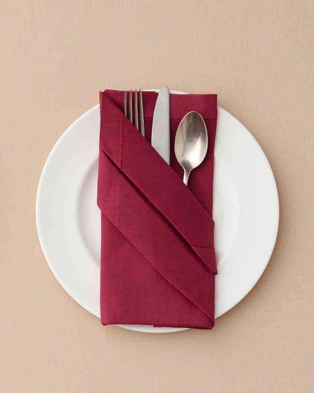 7 Ways To Fold A Table Napkin For Your Day And Every Martha Weddings