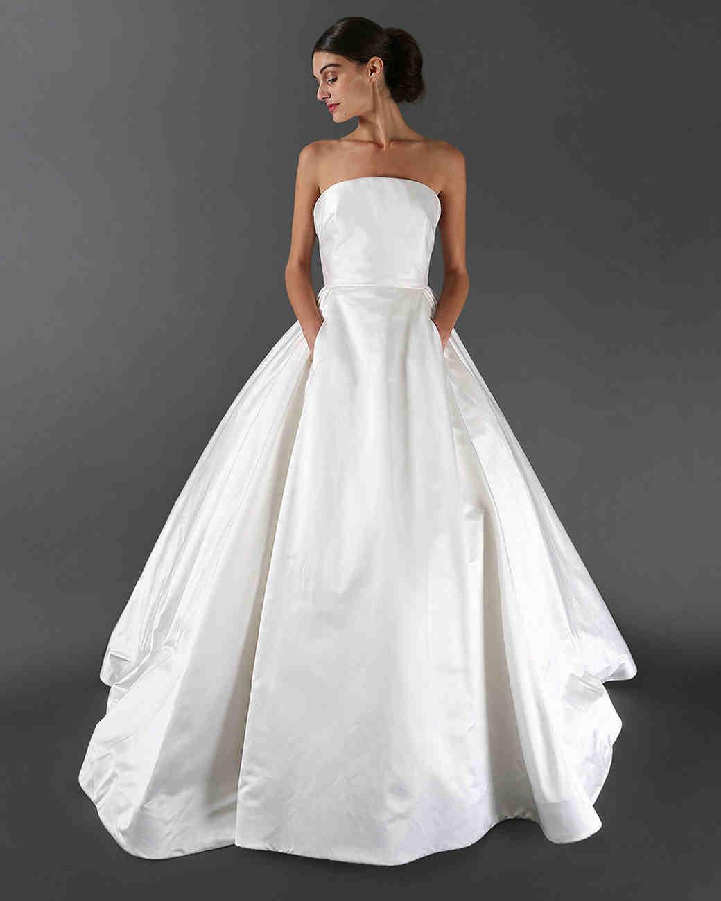 Kleinfeld's Wedding Dress with Pockets