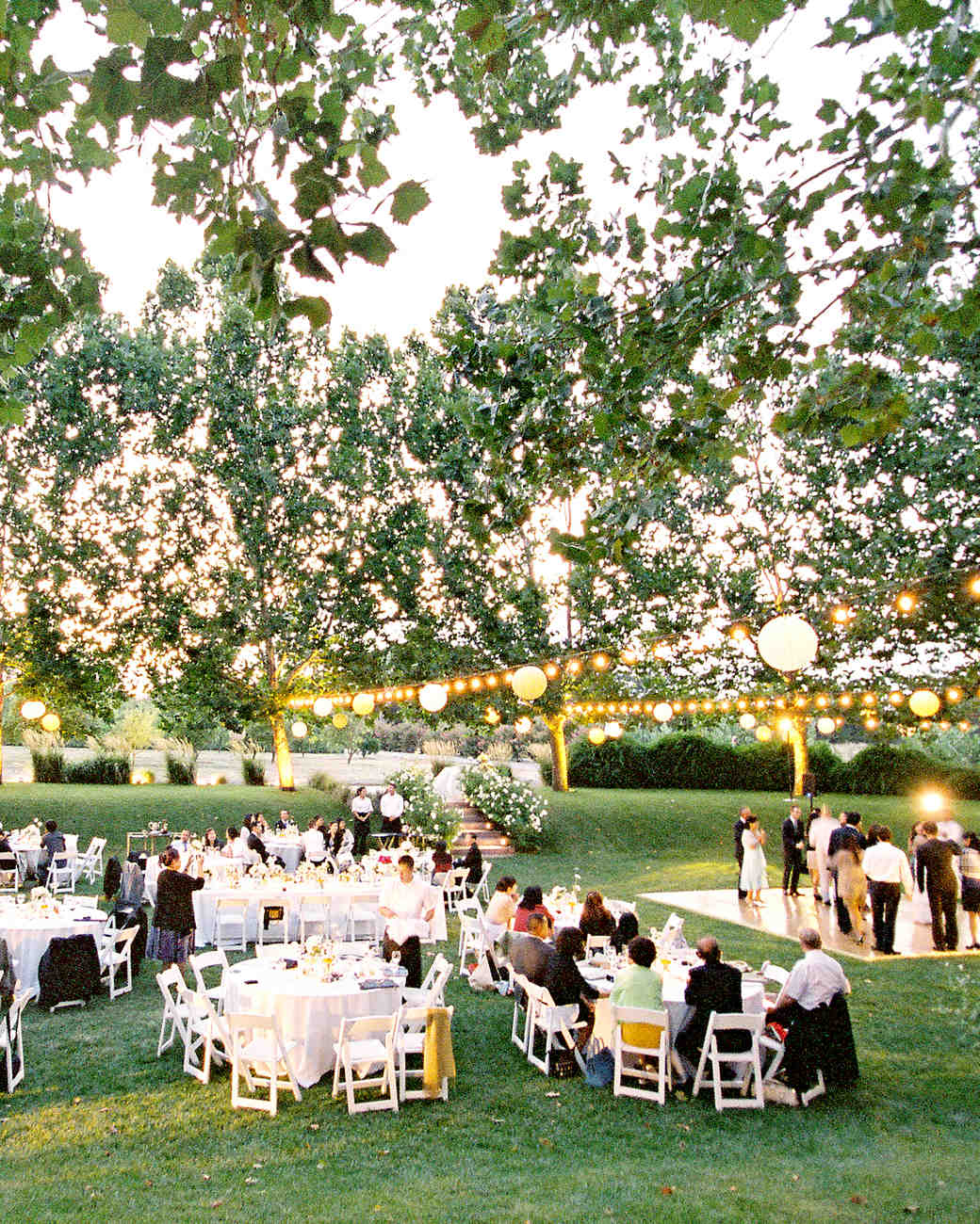 Outdoor Wedding Reception Ideas: Outdoor Wedding Lighting Ideas From Real Celebrations