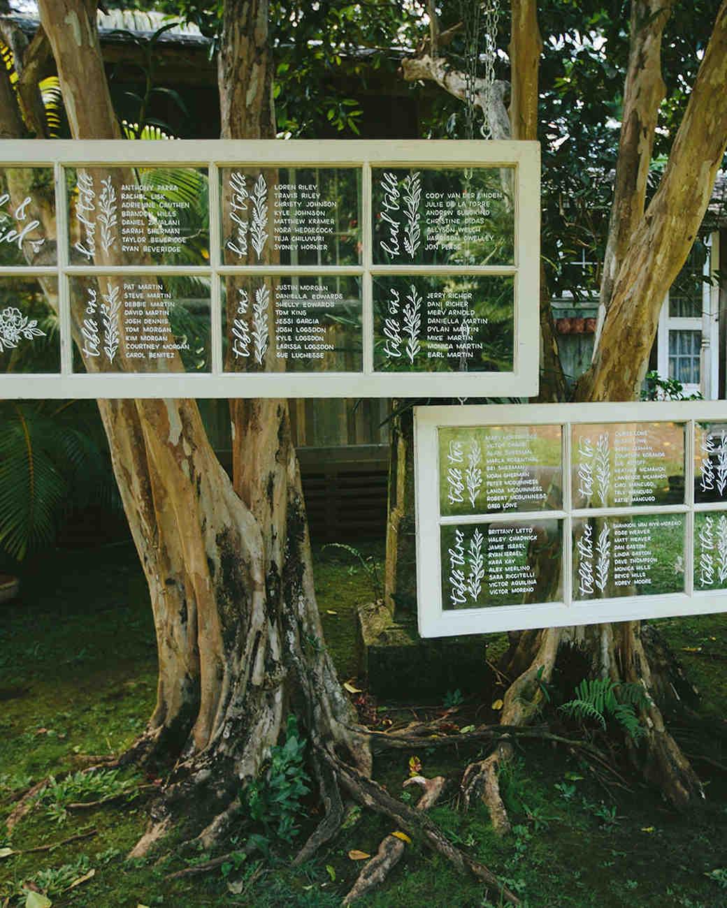 sarah daniel wedding seating chart