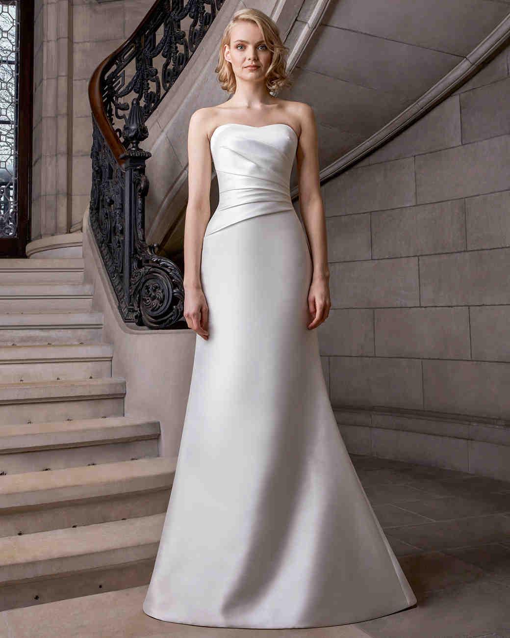 sareh nouri semi sweetheart a-line wedding dress spring 2020