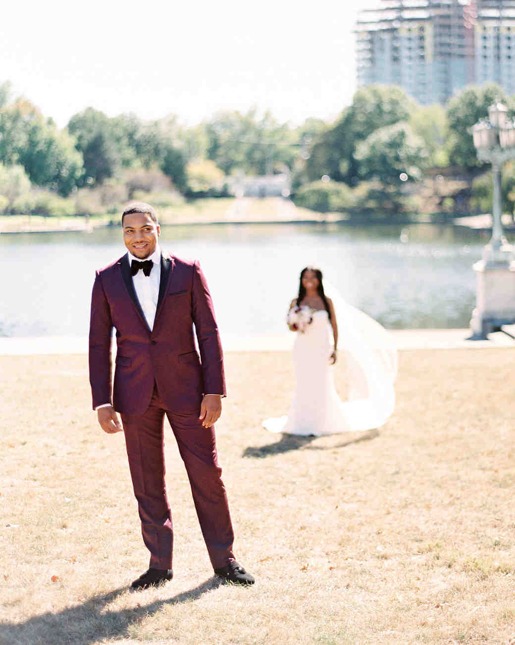shanice & stephen wedding first look