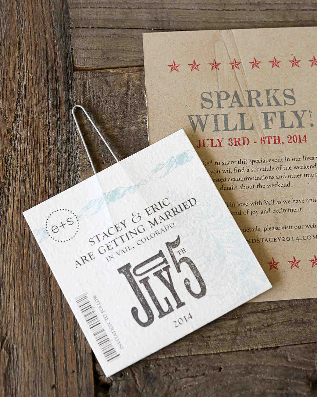 patriotic save-the-date