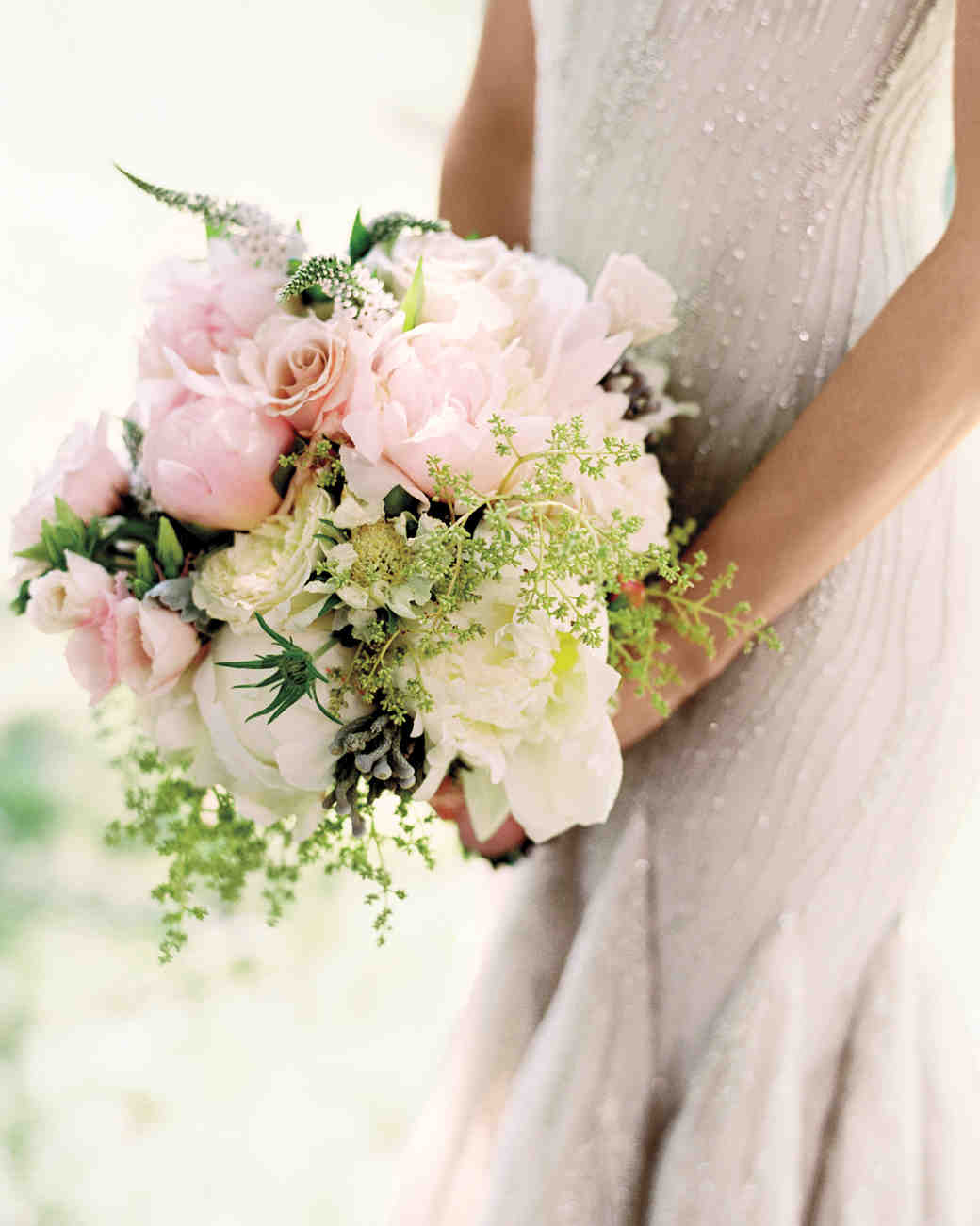 The 50 best wedding bouquets martha stewart weddings pretty pink bouquet junglespirit Choice Image