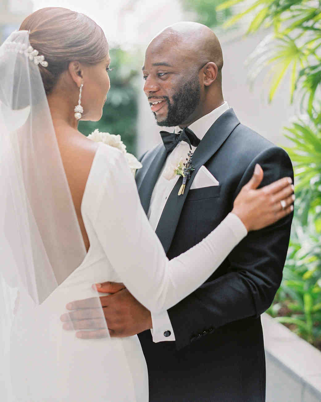 vanessa abidemi wedding first look