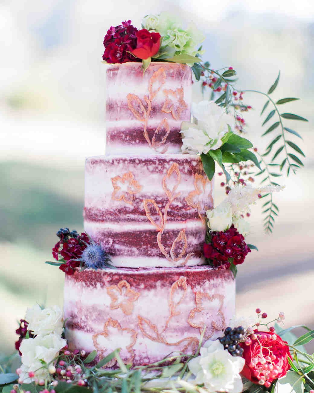 25 New Takes on Traditional Wedding Cake Flavors | Martha Stewart ...