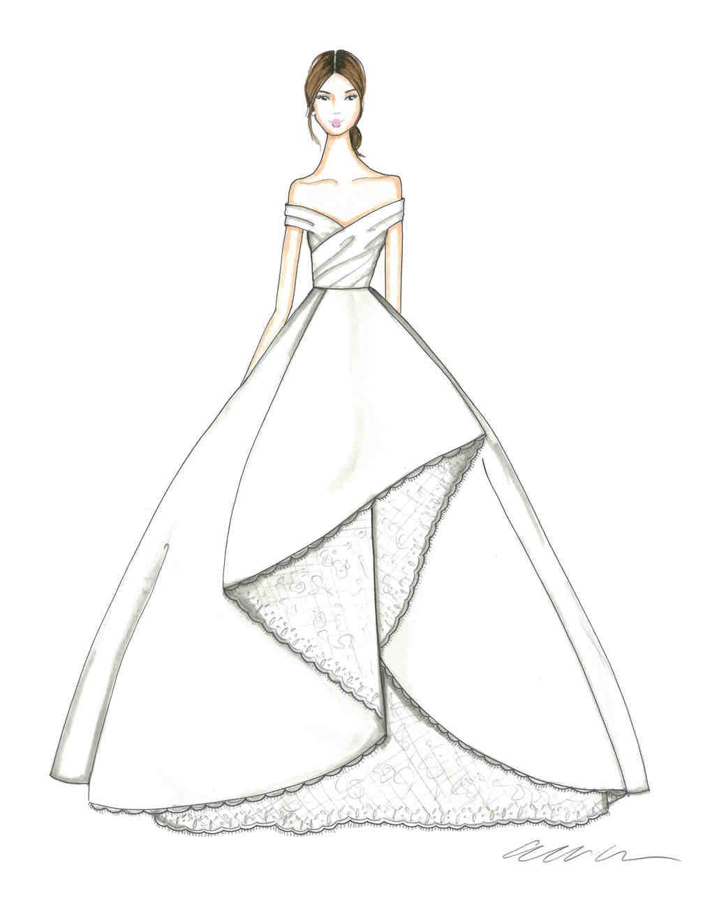 Dresses sketch image