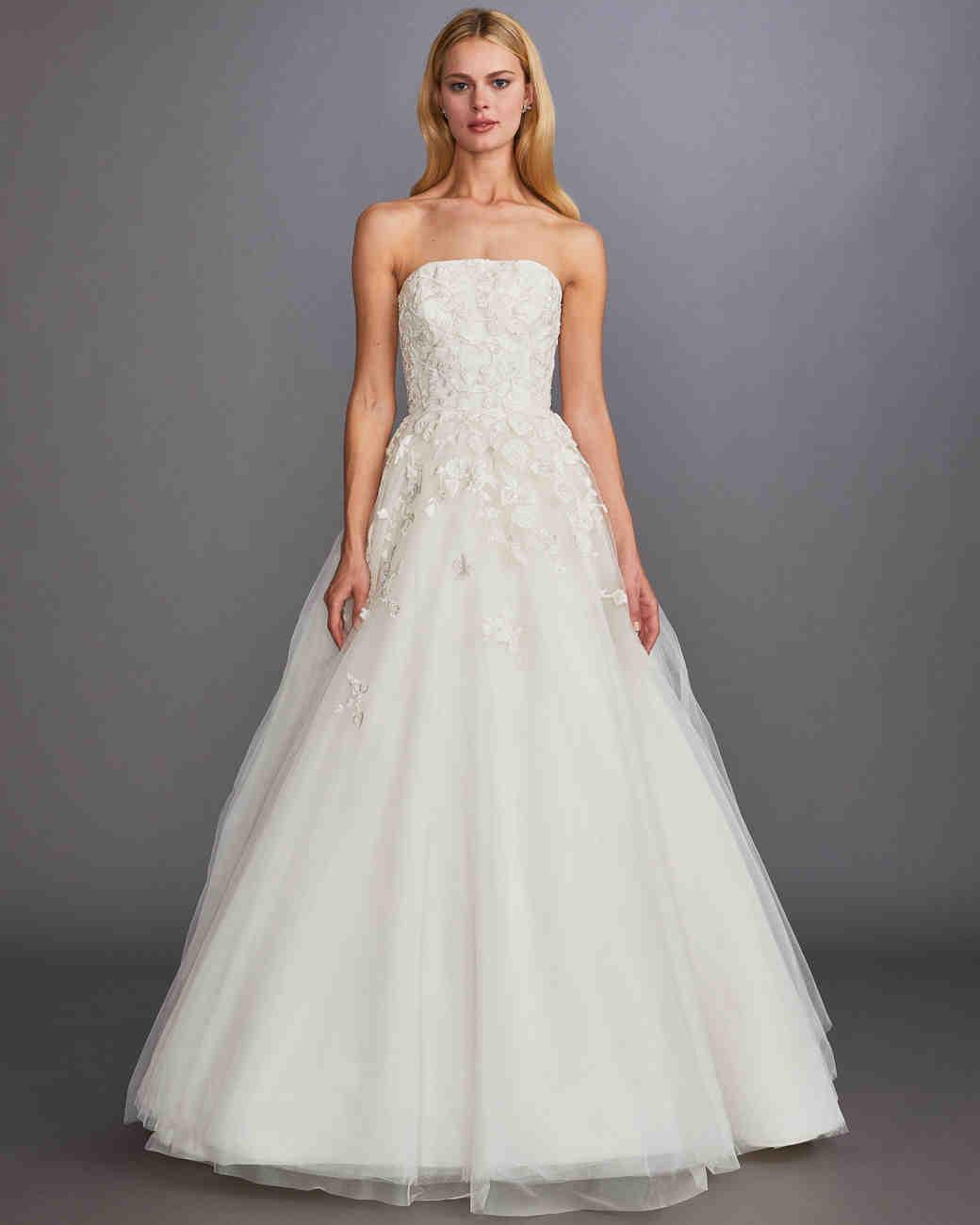 4915ffdf9f1a0 Allison Webb Spring 2020 Wedding Dress Collection | Martha Stewart Weddings