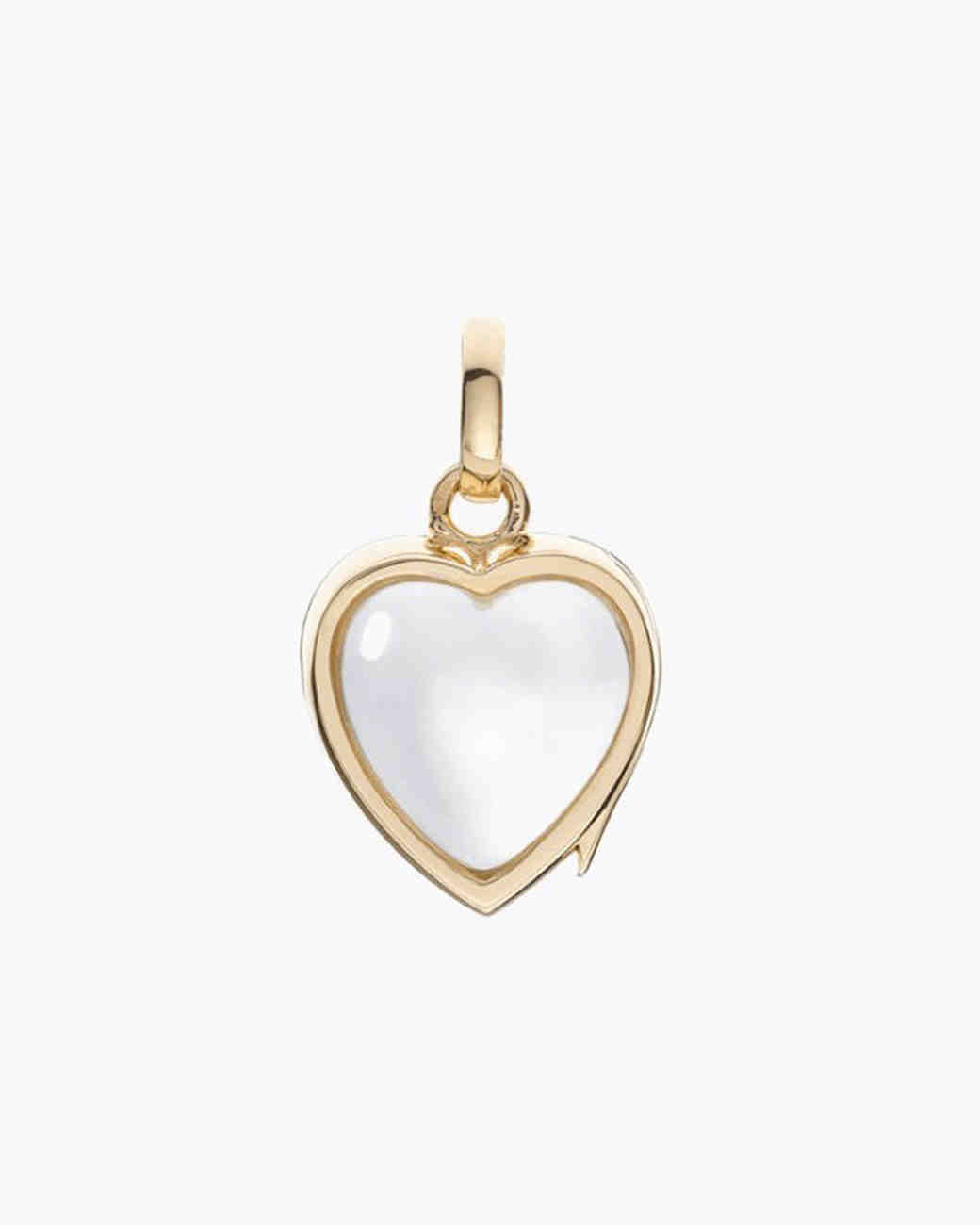 Small Heart Locket Necklace