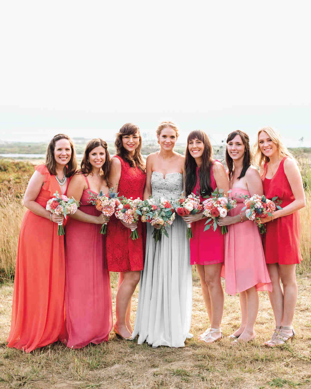 Colorful Bridal Party Dresses