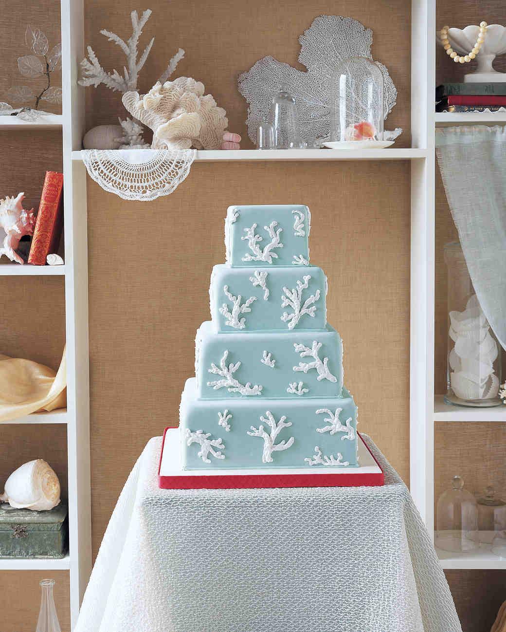 Small Beach Wedding Ideas: 25 Amazing Beach Wedding Cakes