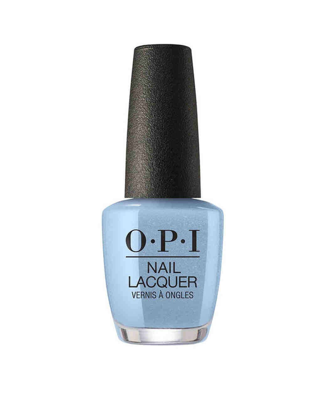 beauty product opi blue nail polish