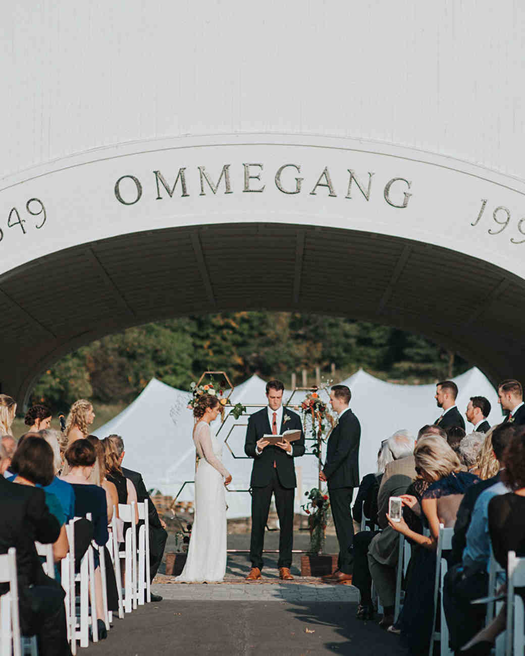 brewery wedding venues outdoor ceremony