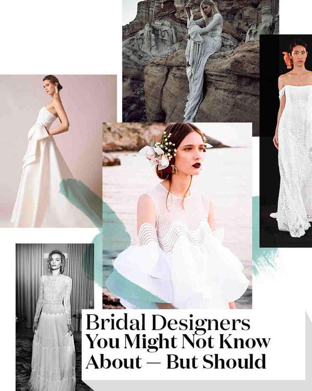Jackie O Style Wedding Dress 76 Awesome Bridal Designers You Might
