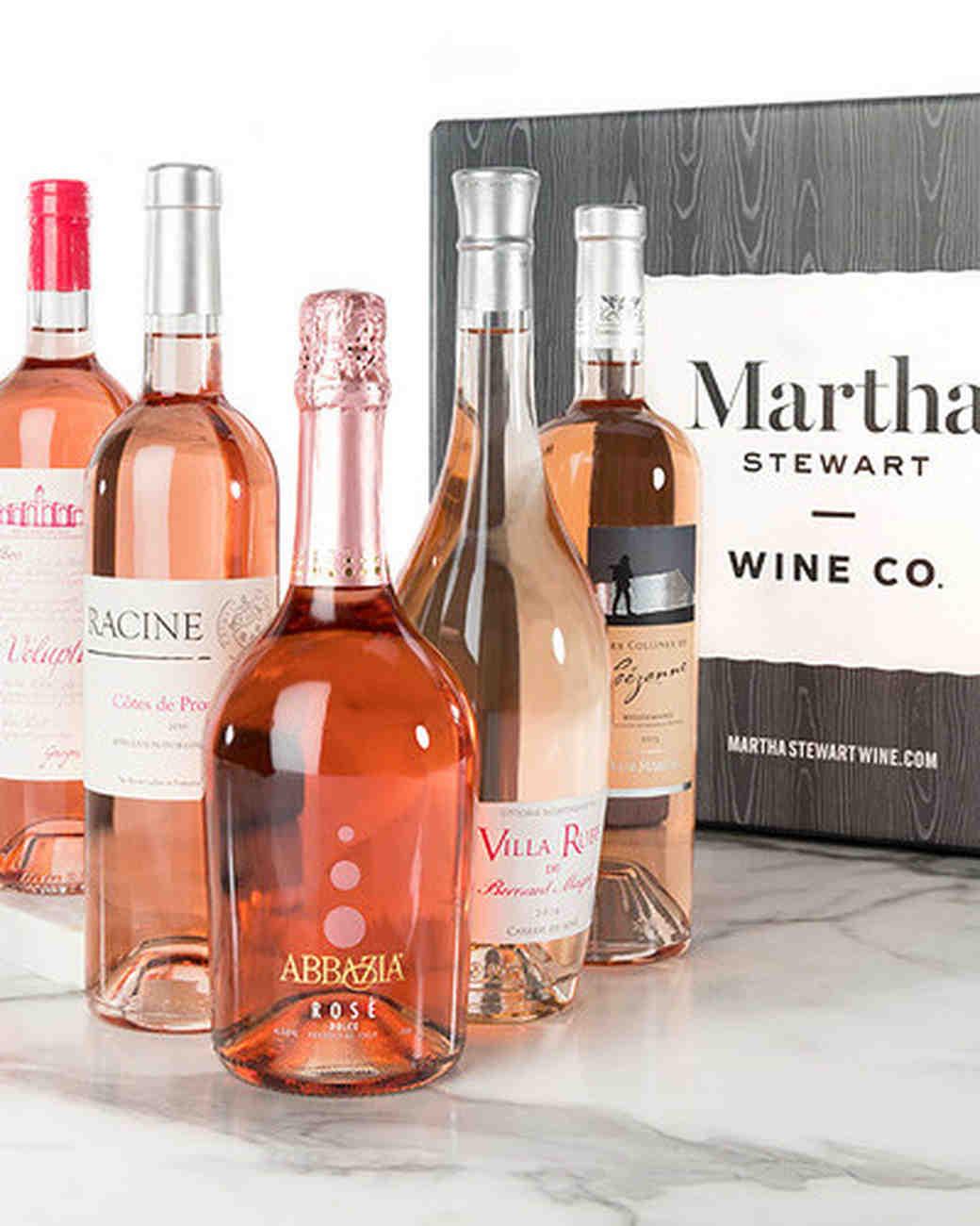 martha wine set