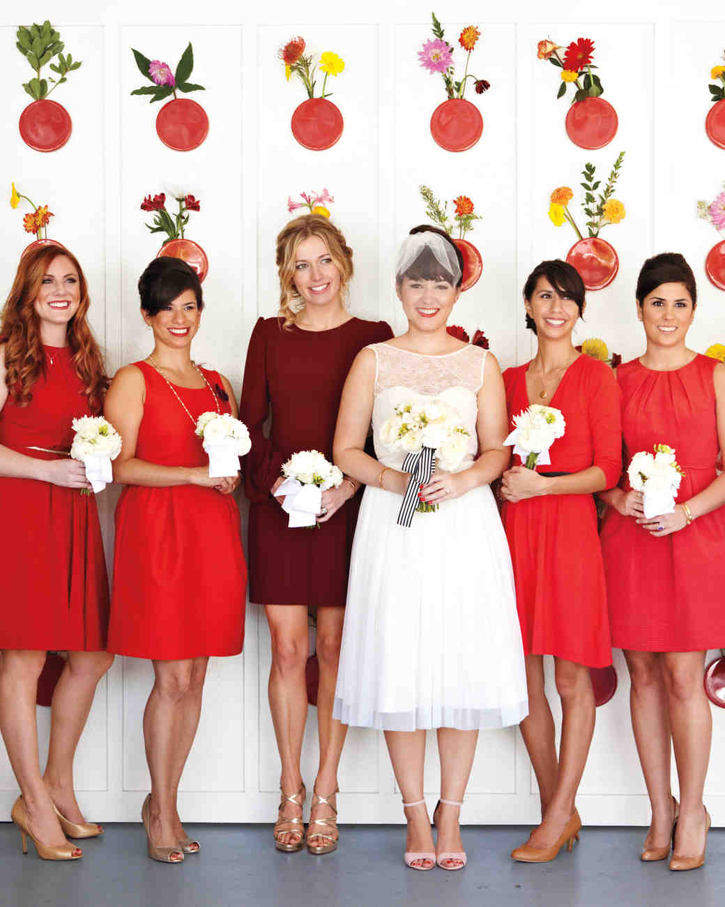 41 reasons to love the mismatched bridesmaids look martha 41 reasons to love the mismatched bridesmaids look martha stewart weddings ombrellifo Choice Image