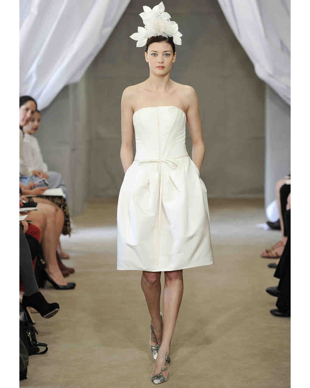 Carolina Herrera, Spring 2013 Collection | Martha Stewart Weddings