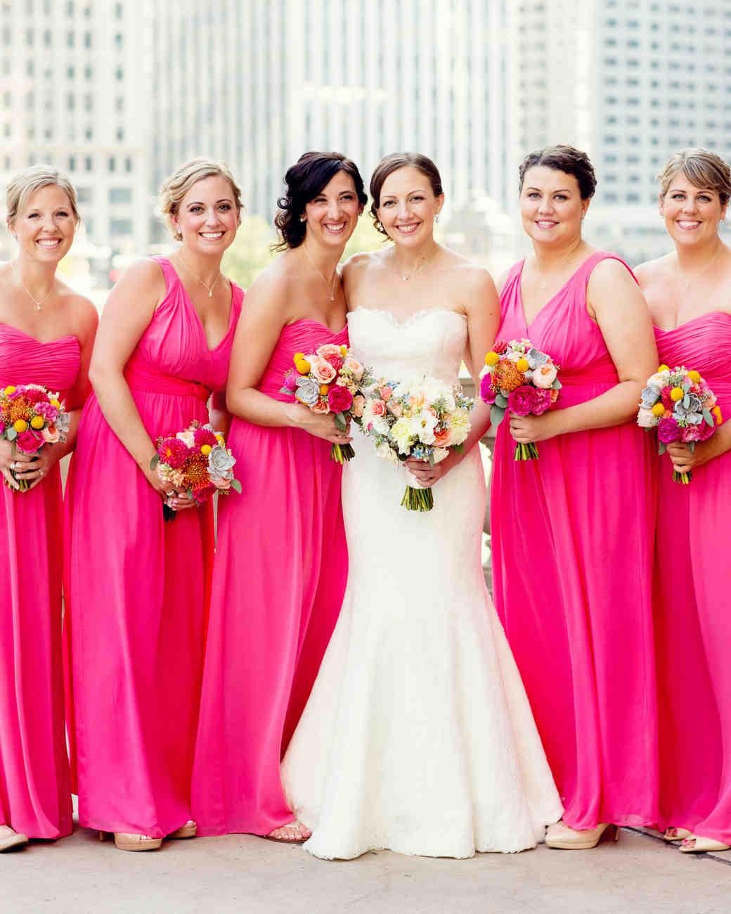 Christina and Jimmy\'s Modern Chicago Wedding | Martha Stewart Weddings