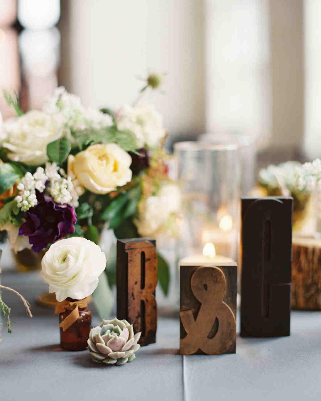 22 Totally Chic Vintage Centerpieces Martha Stewart Weddings