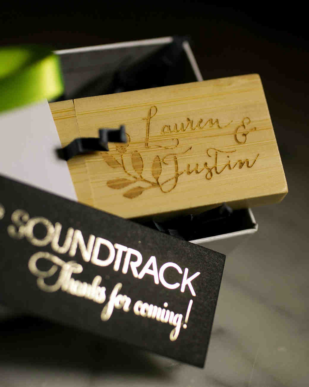 Wedding Soundtrack USB Favor