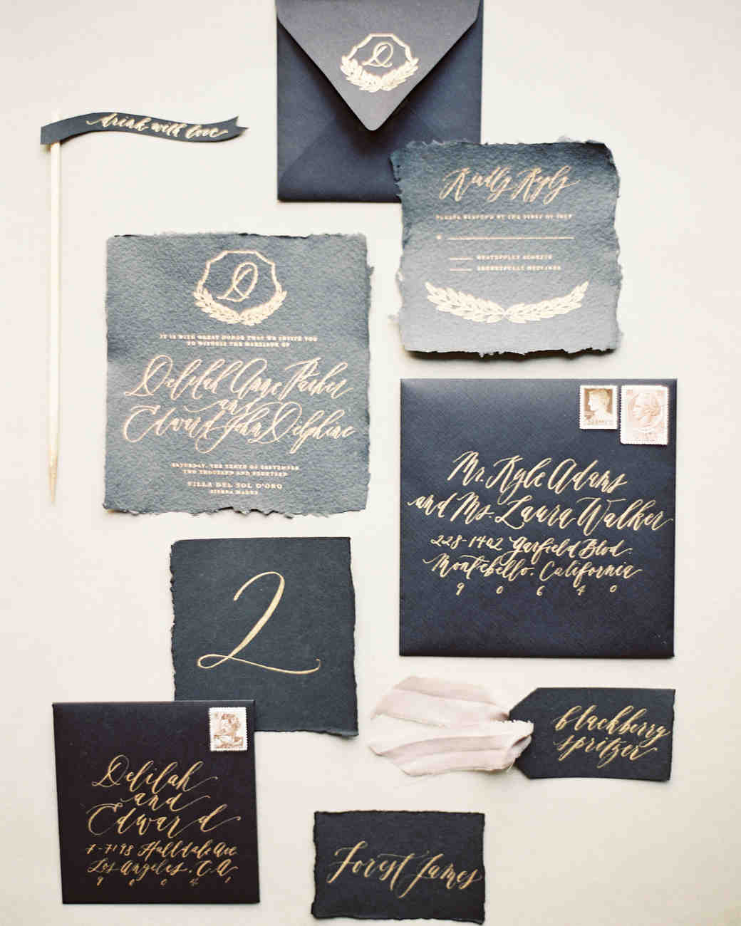 deckle edge invitations kurt boomer