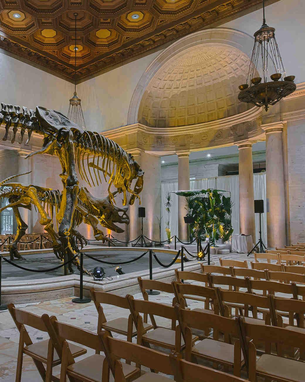 duff goldman johnna colbry ceremony venue dinosaur museum