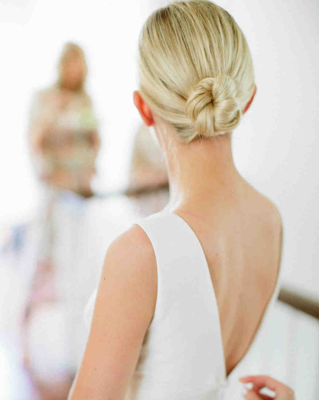 eliza peter wedding bun