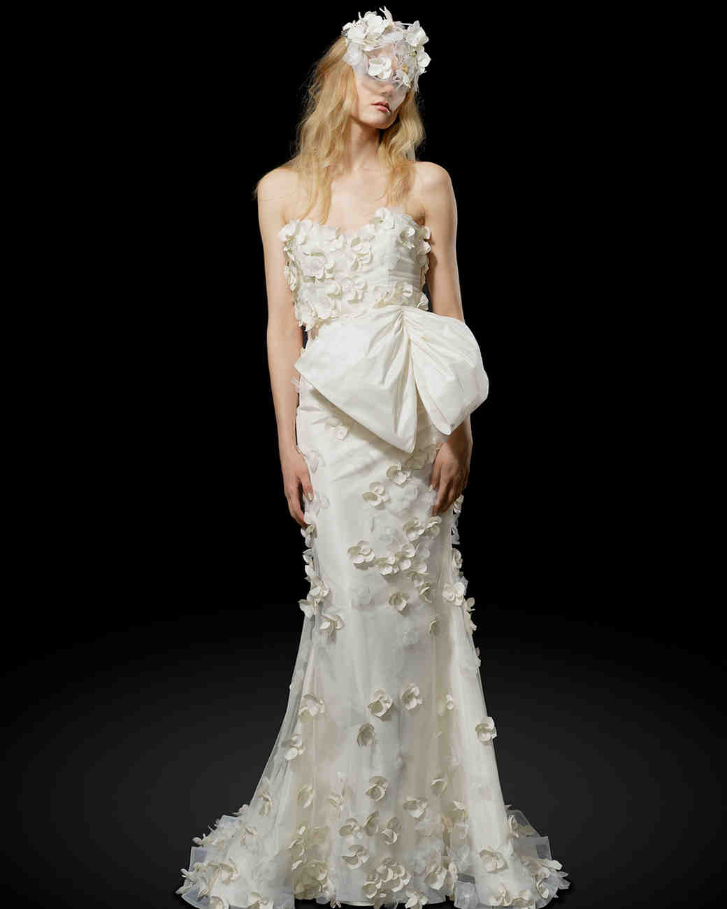 Elizabeth Fillmore Bow Wedding Dress