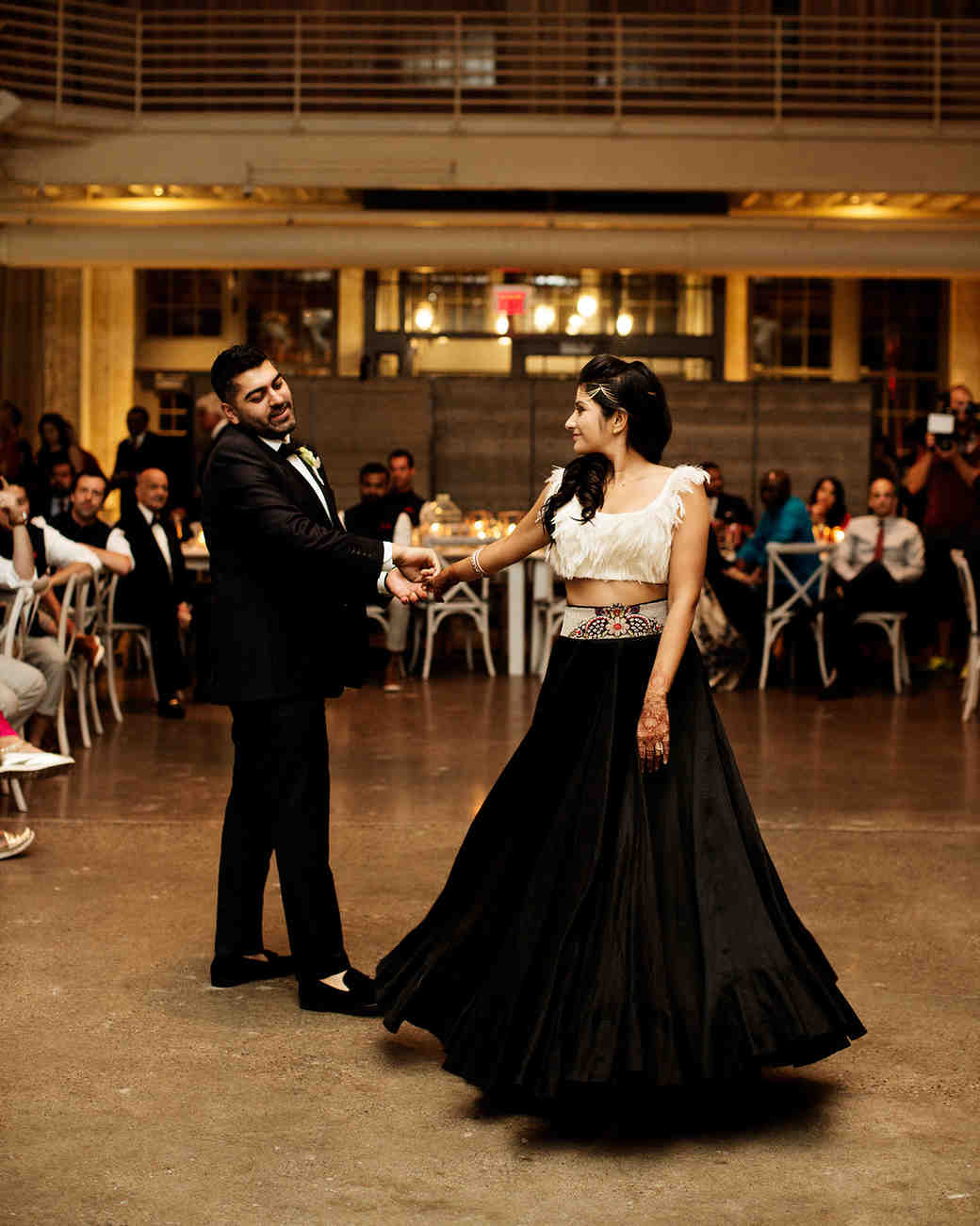 ellora ishan wedding couple first dance
